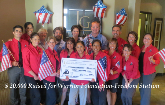 WarriorFoundationPresentationCheck2014
