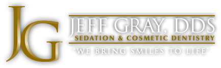 Logo for Jeff Gray DDS Sedation & Cosmetic Dentistry in La Mesa, California