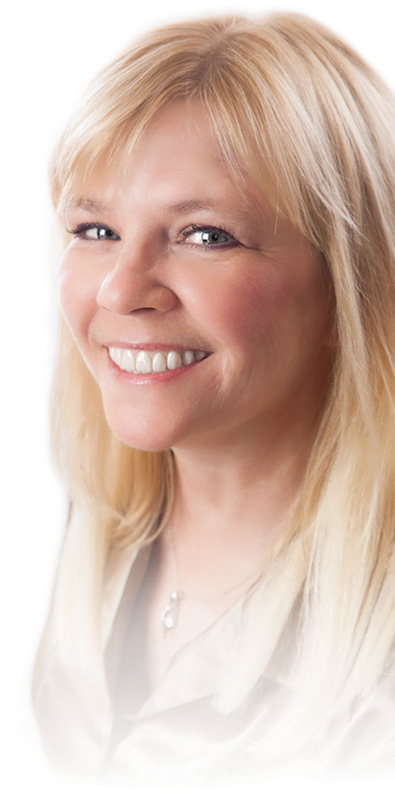 Patient before and after dental implants with Dr. Jeff Gray